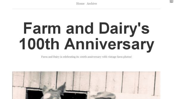 Farm and Dairy Tumblr